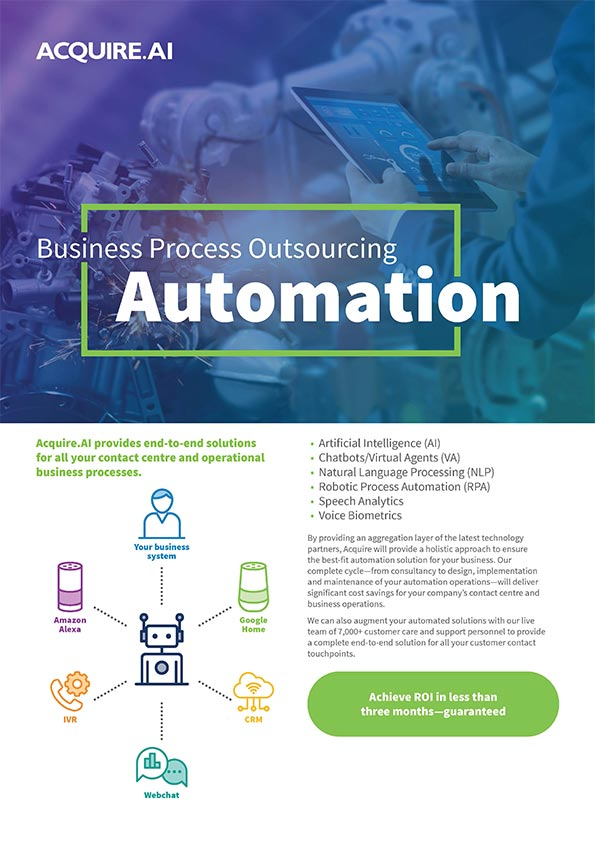 Integrate automation & achieve fast ROI